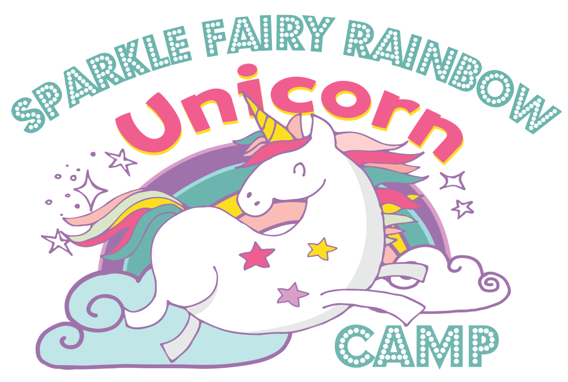 Sparkle Fairy Rainbow Unicorn Camp: Ages 3-7