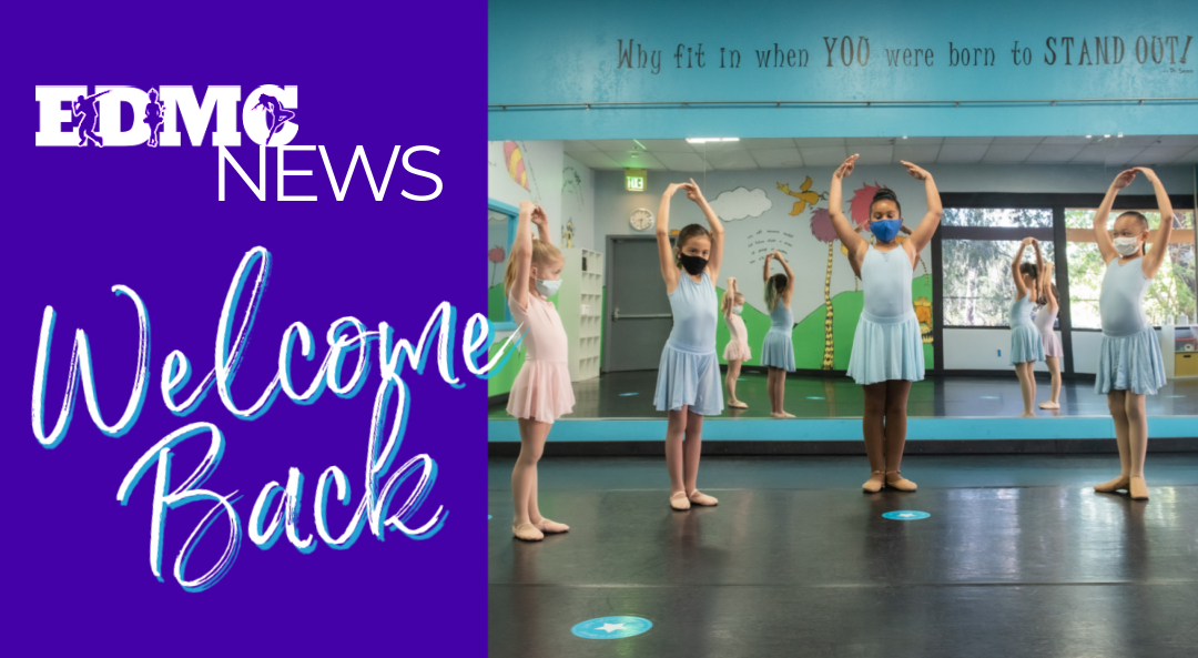 Welcome Back to Dance at Expressions Dance & Movement Center in Santee!
